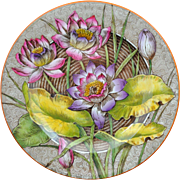 Wedgwood Etruria England Waterlilies Water – Lilly Aesthetic Transfer Plate