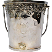 Victorian Forbes Silver Quadruple Plate Champagne or Ice Bucket