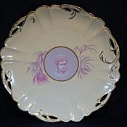 Rosenthal Greek or Roman Medallion Cameo Ware Pierced Round Plate