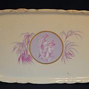 Rosenthal Greek or Roman Medallion Cameo Ware Dresser Tray or Trinket Dish
