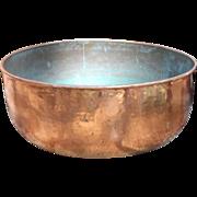 Large Early 19th Century Georgian Copper Log Bin