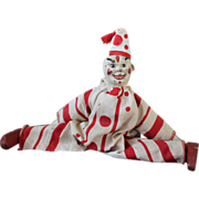 SALE Schoenhut Clown, original costume and hat.  Chair Not included! missing one ear, other ea