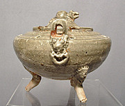 Antique Chinese Celadon Censer Liao Dynasty