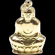 14-Karat Yellow Gold Buddha Charm, c. 1970s