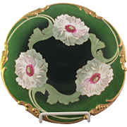 SALE Limoges Hand Painted and Signed Cabinet Plate