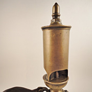 SOLD Crosby 1870's Brass 3 Chime Train Steam Whistle
