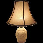 Vintage Alacite Acorn Lamp