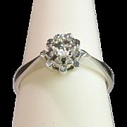 Diamond engagement ring/wedding ring  0.30 carat