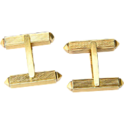 Vintage Cufflinks 18 k yellow gold circa 1950