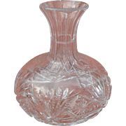 American Brilliant Period Water Wine Liquaor Decanter Carafe