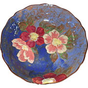 Vintage Royal Doulton Wild Roses Leeds Round Fruit Bowl D6227 1951