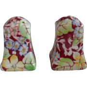 Royal Winton Spring Glory Chintz Salt and Pepper Shakers