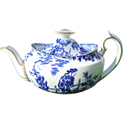 Royal Crown Derby Blue Mikado Teapot 3 Cup Capacity