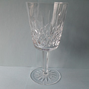 Elegant Waterford Lismore Stemmed Water Goblet Glass