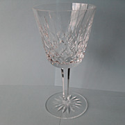 Waterford Lismore Cut Crystal Claret Wine Glass 5 7/8""
