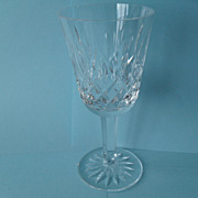 Exquisite Waterford Lismore Crystal Stemmed Wine Glass