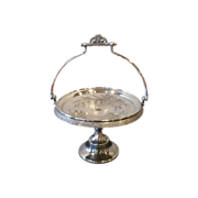 Reed and Barton Silverplate Victorian Brides Basket 1890