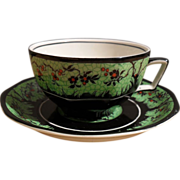 Wedgwood Red Cardinal in the Trees Teacup and Saucer