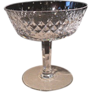 Waterford Heavy Irish Crystal Alana Sherbet Glass