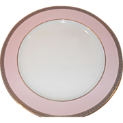 Rosenthal Versace Pink Medusa Colors Service Charger