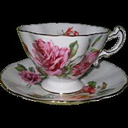 Commanding Hammersley English Tea Morgan's Rose Teacup/Saucer