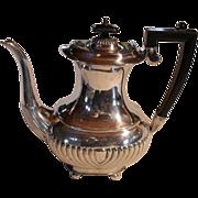 Classic Israel Freeman (IFS) Silver Plated Ribbed Coffeepot