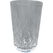 "Exquisite Brilliant Waterford Lismore Glass Crystal 4 1/2"" Tumbler"