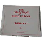 "Shirley Temple Outfit for your 16"" Doll by Danbury Mint - Dimples"