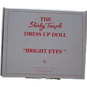 "Shirley Temple Outfit For you 16"" Doll From Danbury Mint - Bright Eyes."