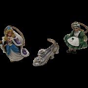 Vintage Disney Christmas Ornaments Wizard Of OZ