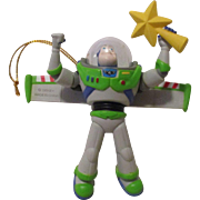 Vintage Disney Buzz Light Year Christmas Ornament