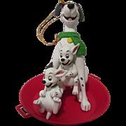 Vintage Disney 101 Dalmatians Christmas Ornament