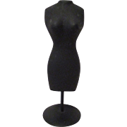 Vintage Metal Dress Form for your Miniature Doll House