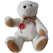 Vintage Hermann White Teddy Bear