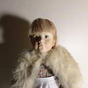 Antique Fur Cape for your Doll