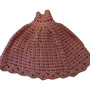 Vintage Crochet Dress for your doll