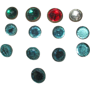 Vintage Glass Buttons for your Doll Dress