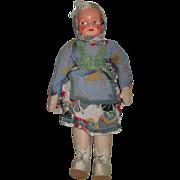 Vintage Poland Cloth Doll