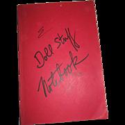 Doll Stuff Notebook