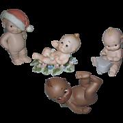 Vintage Kewpie Type Dolls