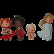 Vintage Strawberry Shortcake Dolls and Holly Hobby
