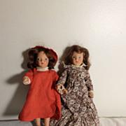 Two Composition MBC N.Y. Dolls