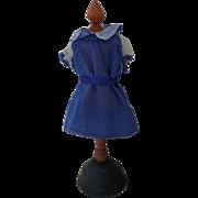Vintage Blue Doll Dress 50's style