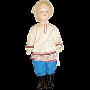 Vintage Russian Dancer Doll