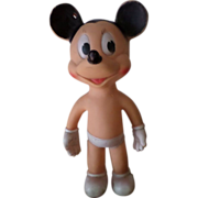 Mickey Mouse Sun Rubber Toy.