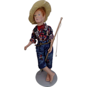 Vintage Huck Finn Doll from Effanbee