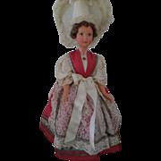 Vintage Beautiful Hard Plastic Doll