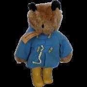 "SOLD 1975 19"" Paddington Bear with tag"