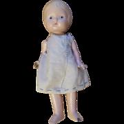Vintage Composition Girl Doll