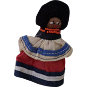 Beautiful, Vintage, Seminole Indian, Palmetto Handmade Doll